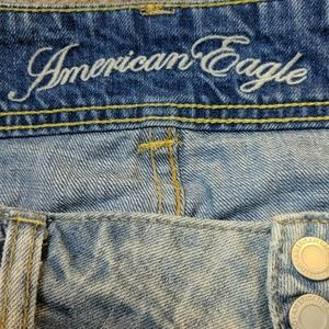 American Eagle Outfitters Skirts - American Eagle Distressed Denim Skirt sz 8
